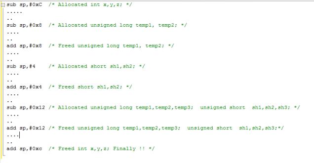 Non-Optimized Sequence